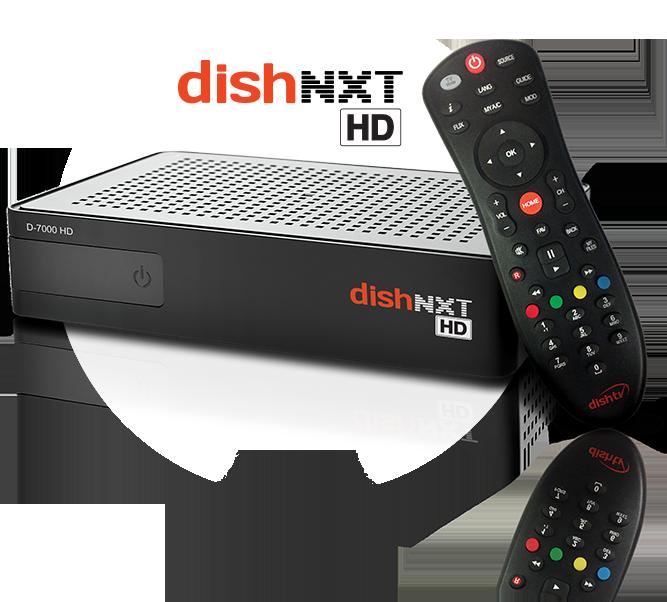 DISHTV NXT HD Premium plus Set-Top Box with recorder (ALL India)